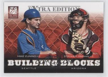 2012 Elite Extra Edition Building Blocks Dual #19 - Mike Zunino, Stryker Trahan