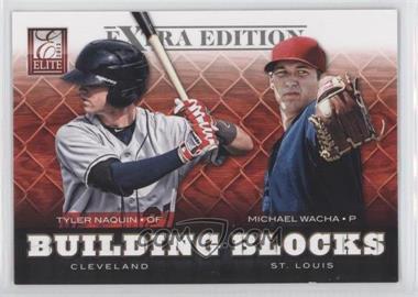 2012 Elite Extra Edition Building Blocks Dual #2 - Michael Wacha, Tyler Naquin