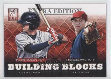 2012 Elite Extra Edition Building Blocks Dual #2 - Michael Wacha, Tyler Naquin