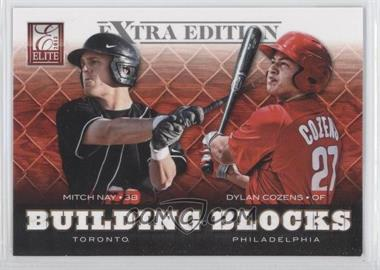 2012 Elite Extra Edition Building Blocks Dual #20 - Dylan Cozens, Mitch Nay
