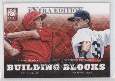 2012 Elite Extra Edition Building Blocks Dual #4 - Spencer Edwards, Steve Bean