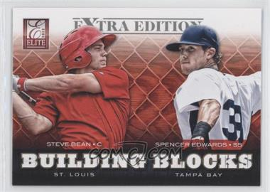 2012 Elite Extra Edition Building Blocks Dual #4 - Spencer Edwards, Steve Bean