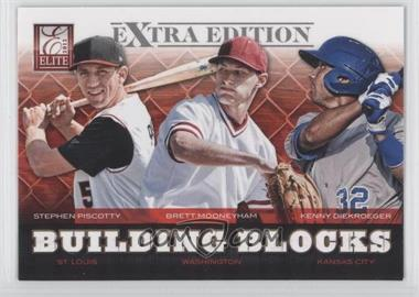 2012 Elite Extra Edition Building Blocks Trio #10 - Brett Mooneyham, Stephen Piscotty