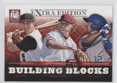 2012 Elite Extra Edition Building Blocks Trio #10 - Brett Mooneyham, Stephen Piscotty