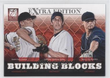 2012 Elite Extra Edition Building Blocks Trio #5 - Drew VerHagen, Sam Selman, Will Clinard