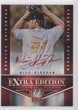 2012 Elite Extra Edition Franchise Futures Red Ink Signatures [Autographed] #75 - Nick Kingham /25