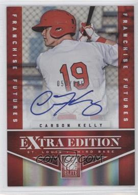 2012 Elite Extra Edition Franchise Futures Signatures [Autographed] #10 - Carson Kelly /205