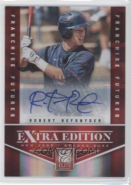 2012 Elite Extra Edition Franchise Futures Signatures [Autographed] #21 - Robert Refsnyder /799