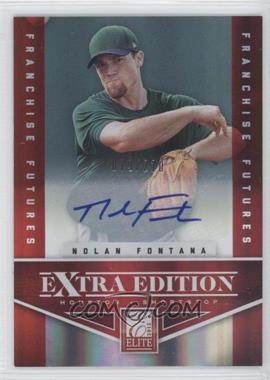 2012 Elite Extra Edition Franchise Futures Signatures [Autographed] #22 - Nolan Fontana /210