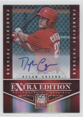 2012 Elite Extra Edition Franchise Futures Signatures [Autographed] #26 - Dylan Cozens /199