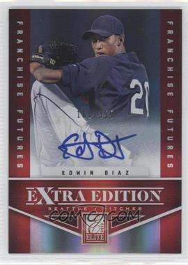 2012 Elite Extra Edition Franchise Futures Signatures [Autographed] #36 - Edwin Diaz /355