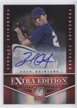 2012 Elite Extra Edition Franchise Futures Signatures [Autographed] #41 - Zach Quintana /381