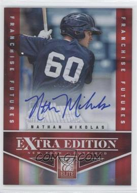 2012 Elite Extra Edition Franchise Futures Signatures [Autographed] #42 - Nathan Mikolas /355