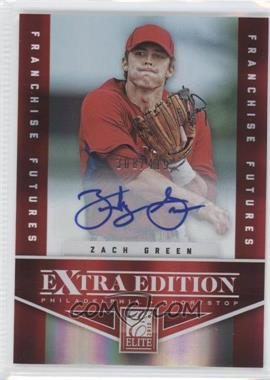 2012 Elite Extra Edition Franchise Futures Signatures [Autographed] #44 - Zach Green /419