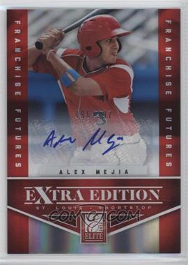 2012 Elite Extra Edition Franchise Futures Signatures [Autographed] #48 - Alex Mejia /397