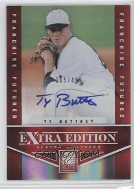 2012 Elite Extra Edition Franchise Futures Signatures [Autographed] #49 - Ty Buttrey /499