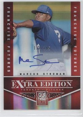 2012 Elite Extra Edition Franchise Futures Signatures [Autographed] #5 - Marcus Stroman /195
