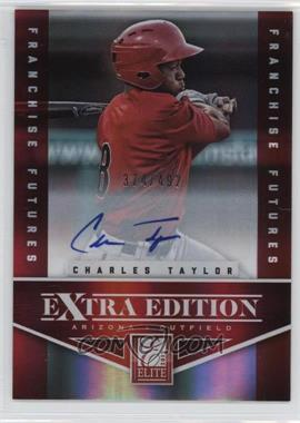 2012 Elite Extra Edition Franchise Futures Signatures [Autographed] #50 - Charles Taylor /492