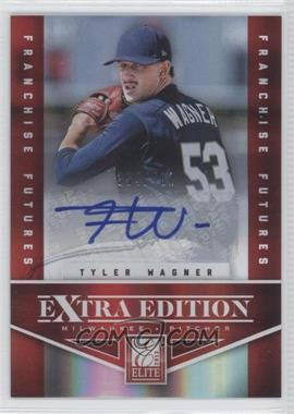 2012 Elite Extra Edition Franchise Futures Signatures [Autographed] #52 - Tyler Wagner /481