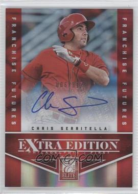 2012 Elite Extra Edition Franchise Futures Signatures [Autographed] #53 - Chris Serritella /312