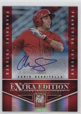 2012 Elite Extra Edition Franchise Futures Signatures [Autographed] #53 - Chris Serritella /312