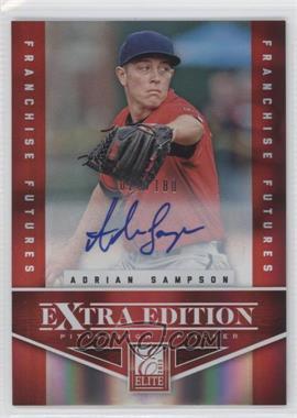 2012 Elite Extra Edition Franchise Futures Signatures [Autographed] #56 - Adrian Sampson /180