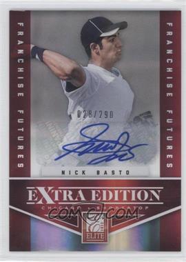 2012 Elite Extra Edition Franchise Futures Signatures [Autographed] #57 - Nick Basto /290