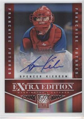 2012 Elite Extra Edition Franchise Futures Signatures [Autographed] #59 - Spencer Kieboom /475