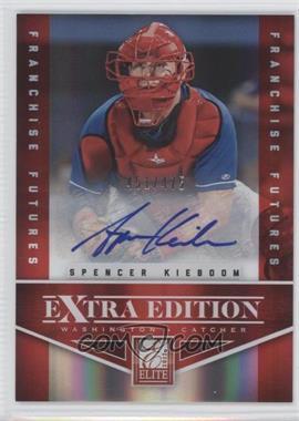 2012 Elite Extra Edition Franchise Futures Signatures [Autographed] #59 - Spencer Kieboom /475