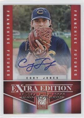 2012 Elite Extra Edition Franchise Futures Signatures [Autographed] #61 - Cory Jones /781