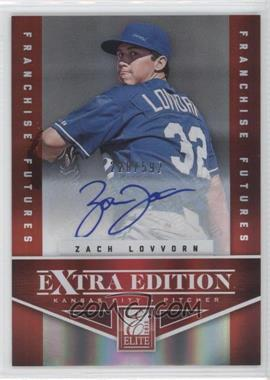 2012 Elite Extra Edition Franchise Futures Signatures [Autographed] #66 - Zach Lovvorn /592