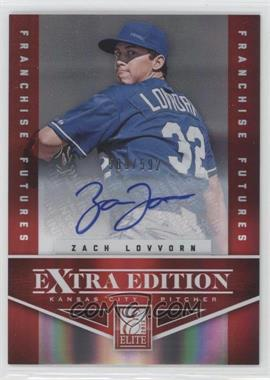 2012 Elite Extra Edition Franchise Futures Signatures [Autographed] #66 - Zach Lovvorn /592
