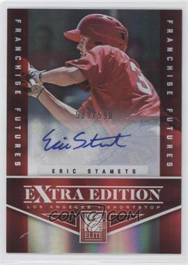 2012 Elite Extra Edition Franchise Futures Signatures [Autographed] #67 - Eric Stamets /590