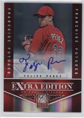 2012 Elite Extra Edition Franchise Futures Signatures [Autographed] #69 - Felipe Perez /799