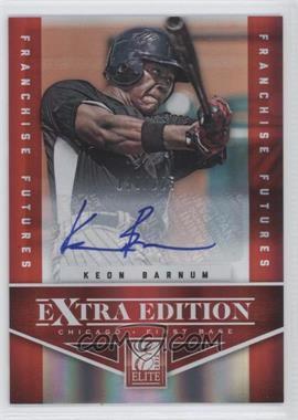 2012 Elite Extra Edition Franchise Futures Signatures [Autographed] #7 - Keon Barnum /225