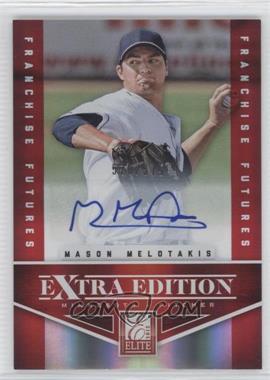 2012 Elite Extra Edition Franchise Futures Signatures [Autographed] #70 - Mason Melotakis /575