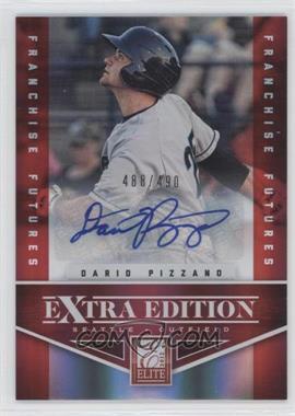2012 Elite Extra Edition Franchise Futures Signatures [Autographed] #73 - Dario Pizzano /490