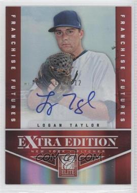2012 Elite Extra Edition Franchise Futures Signatures [Autographed] #74 - Logan Taylor /712
