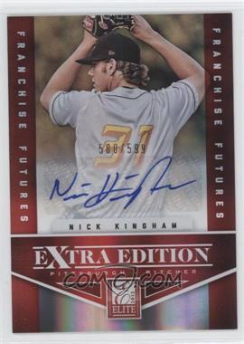 2012 Elite Extra Edition Franchise Futures Signatures [Autographed] #75 - Nick Kingham /599