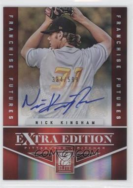 2012 Elite Extra Edition Franchise Futures Signatures [Autographed] #75 - Nick Kingham /599