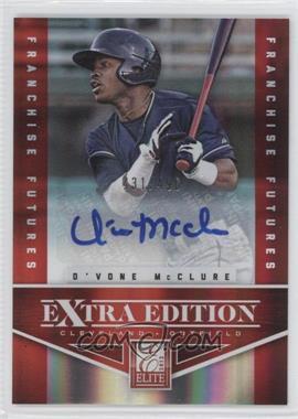 2012 Elite Extra Edition Franchise Futures Signatures [Autographed] #80 - D'Vone McClure /496