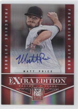 2012 Elite Extra Edition Franchise Futures Signatures [Autographed] #81 - Matt Price /790