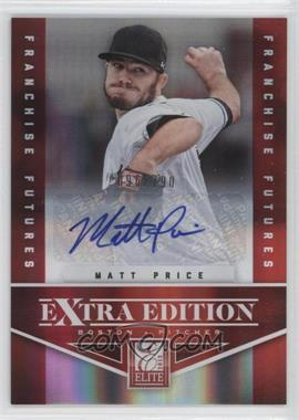 2012 Elite Extra Edition Franchise Futures Signatures [Autographed] #81 - Matt Price /790
