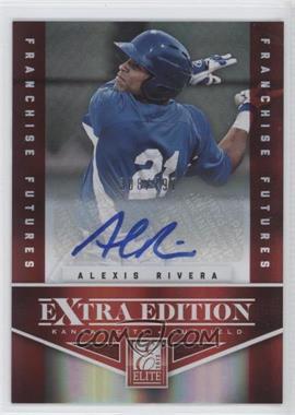 2012 Elite Extra Edition Franchise Futures Signatures [Autographed] #82 - Alexis Rivera /797