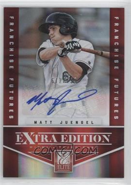 2012 Elite Extra Edition Franchise Futures Signatures [Autographed] #85 - Matt Juengel /799