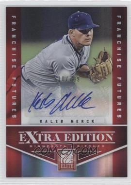 2012 Elite Extra Edition Franchise Futures Signatures [Autographed] #86 - Kaleb Merck /799