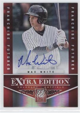 2012 Elite Extra Edition Franchise Futures Signatures [Autographed] #9 - Max White /229