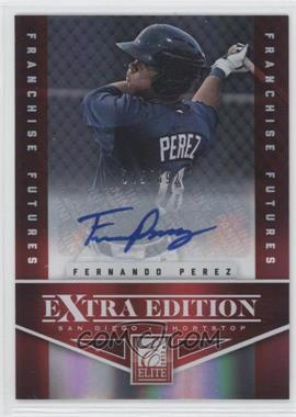 2012 Elite Extra Edition Franchise Futures Signatures [Autographed] #90 - Fernando Perez /592
