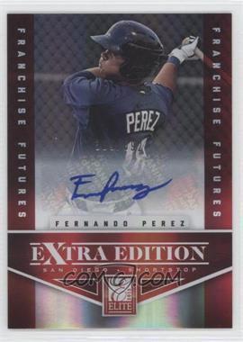 2012 Elite Extra Edition Franchise Futures Signatures [Autographed] #90 - Fernando Perez /692