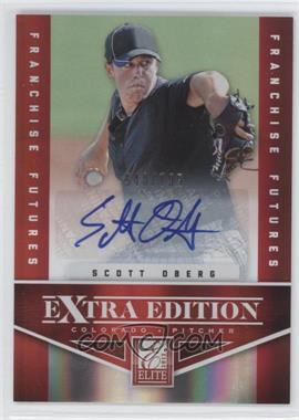 2012 Elite Extra Edition Franchise Futures Signatures [Autographed] #96 - Scott Oberg /799